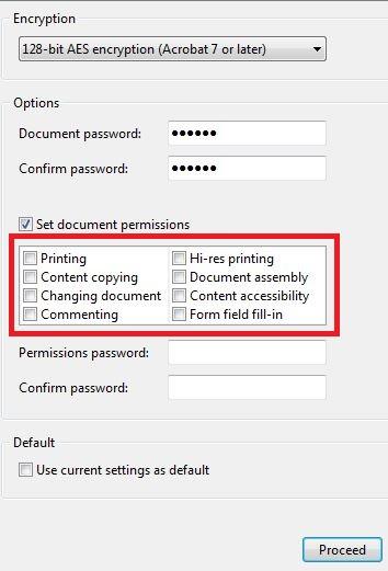 قرار دادن رمز روی فایل پی دی اف با استفاده از نرم افزار